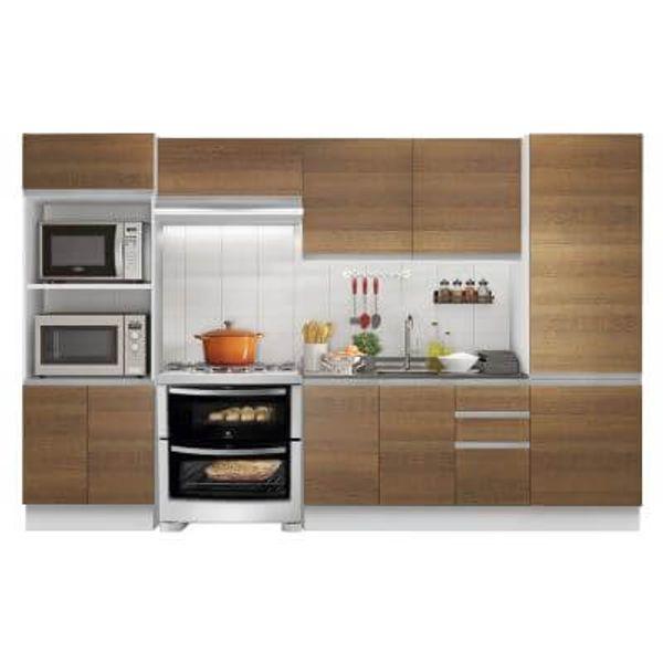 Cozinha Completa Madesa 100 Mdf Acordes Glamy 2 Gavetas 11 Portas