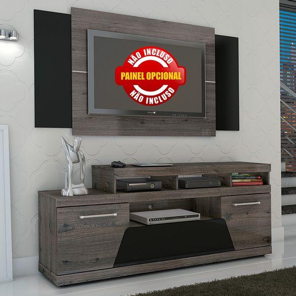 Painel de parede para TV com Rack. - Móveis Simonetti