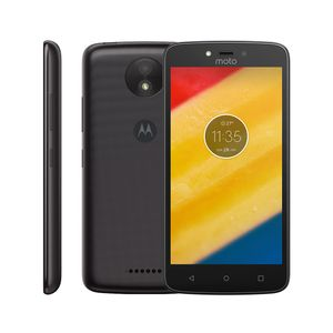 "Motorola Moto C PLUS XT1726 Quad-Core, Android 7.0, Tela 5.0"" 8GB, 1GB RAM, Câmera 8MP, Dual Chip"