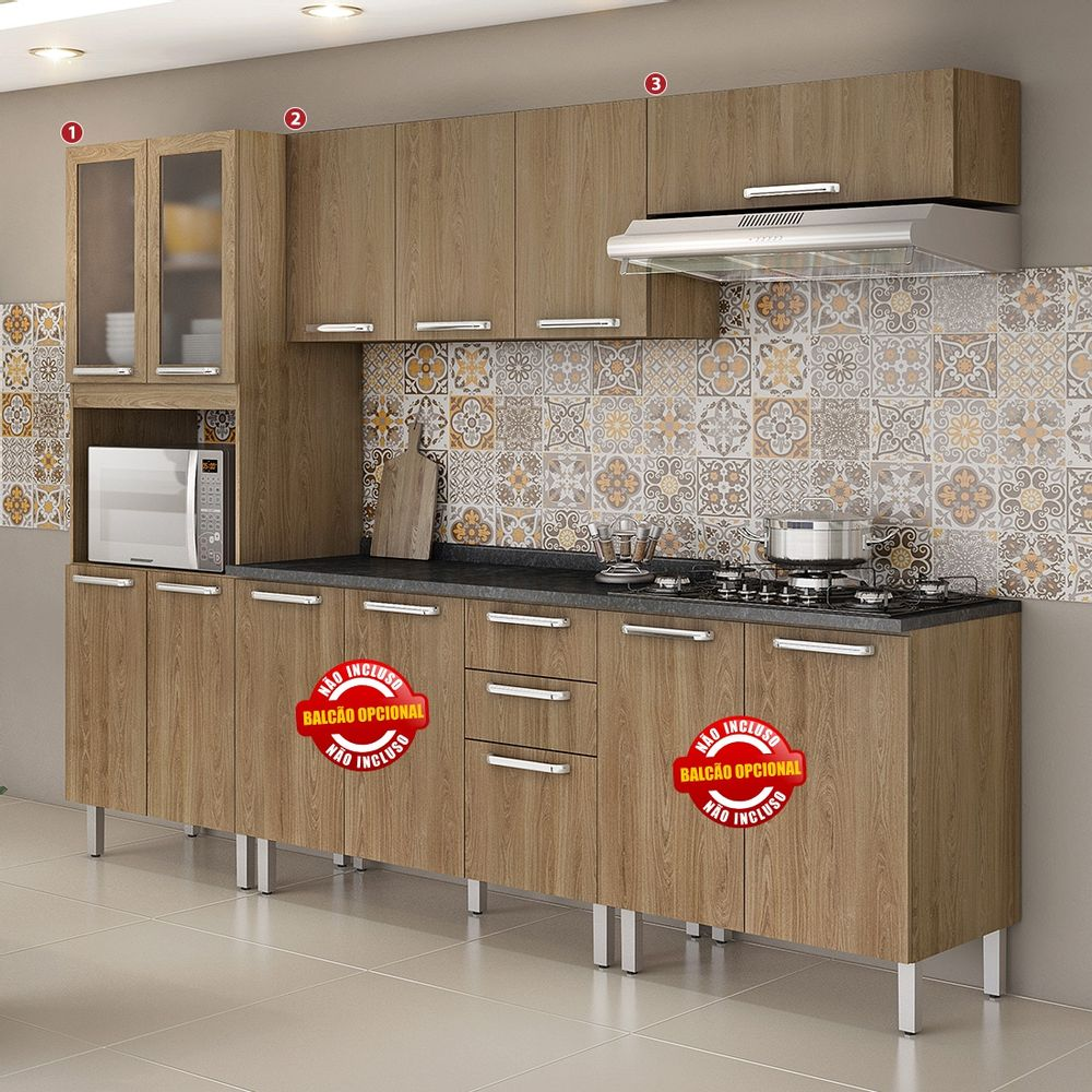 Cozinha Cacau 3 Pe As Itatiaia Moveis Simonetti