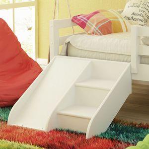 edbf1edefe Kit Escadinha com Mini Escorregador para Cama Infantil Prime - Casatema