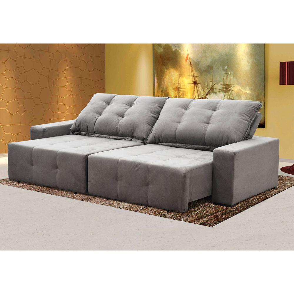 Fantastic Sofa Retratil E Reclinavel 3 Lugares Sater Bom Pastor Evergreenethics Interior Chair Design Evergreenethicsorg