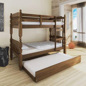 c3cf0b62d9 cama-infantil-army-com-escorregador---madeira-macica---laca-branco ...