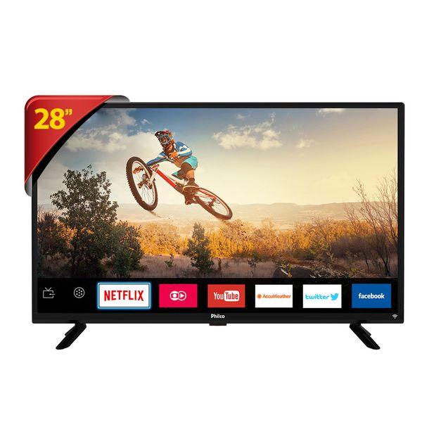 """Tv Led 28"""" Philco Smart PTV28G50SN - DTV, Wi- Fi integrado, HDMI e USB - UNICA"""
