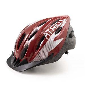 af27e1c9f Capacete para Ciclismo MTB 2.0 Tam. G Viseira Removível e 19 Entradas de  Ventilação Vermelho Branco Atrio - BI163 - Moveis Simonetti