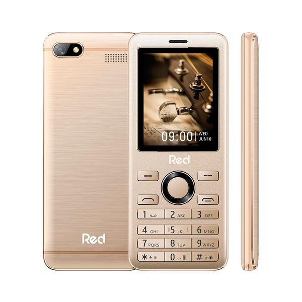 Celular Red Mobile Prime M011f 32mb Dourado - Dual Chip