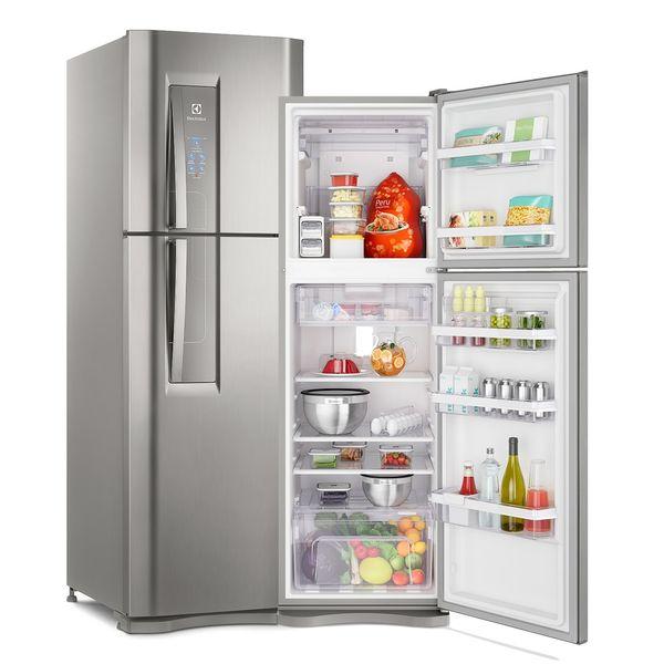 Geladeira/refrigerador 402 Litros 2 Portas Platinum - Electrolux - 110v - Df44s