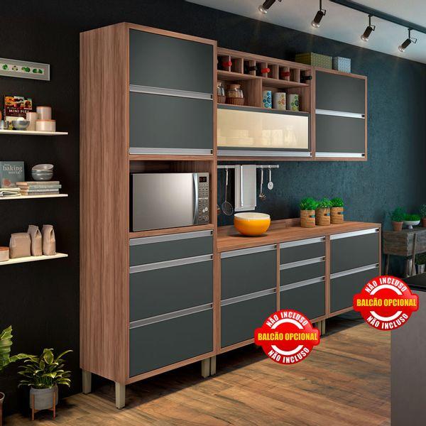 Cozinha Baronesa 3 Módulos Nesher Moveis Simonetti