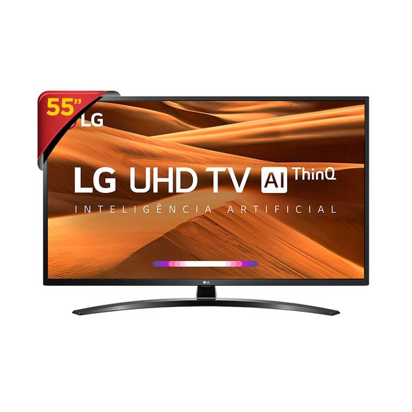 "Tv 55"" Led LG 4k - Ultra Hd Smart - 55um7470"
