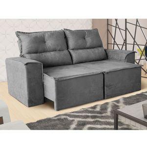 sofa-estofado-3-luagares-cinza-retratil-e-reclinavel-roma-estofado-linhares