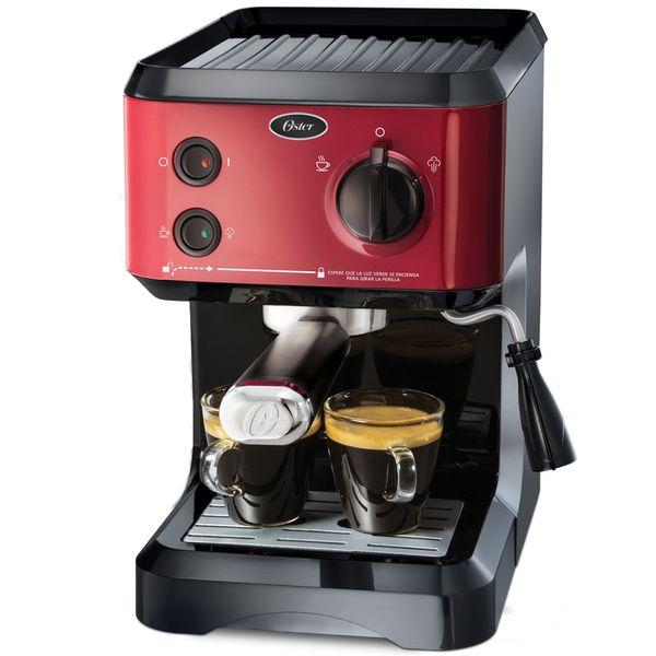 Cafeteira Expresso Oster Cappuccino Vermelho 110v - Bvstecmp65r-017